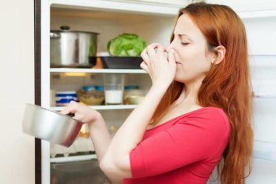remover bad smell from fridge or freezer