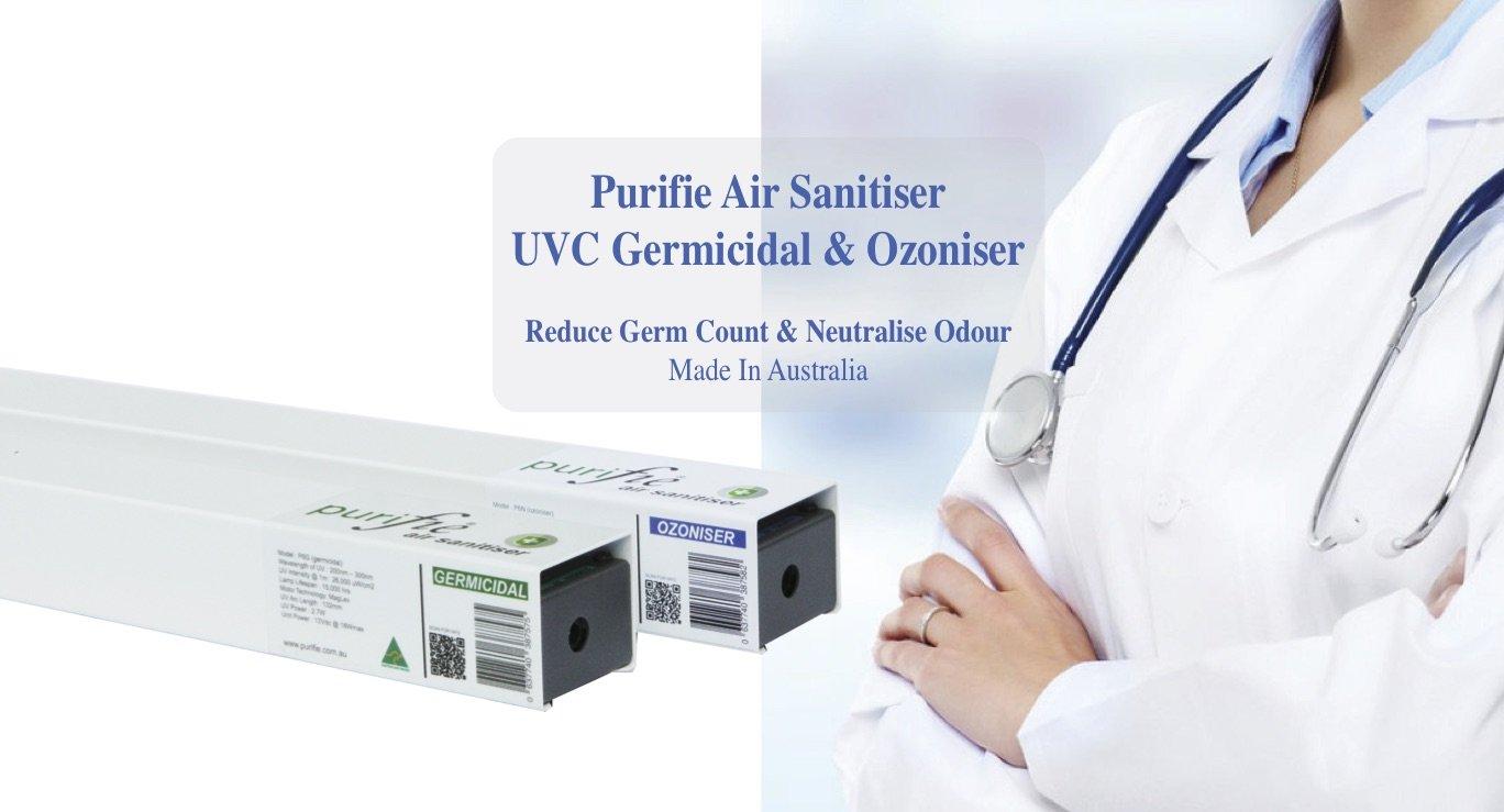 UVC air steriliser